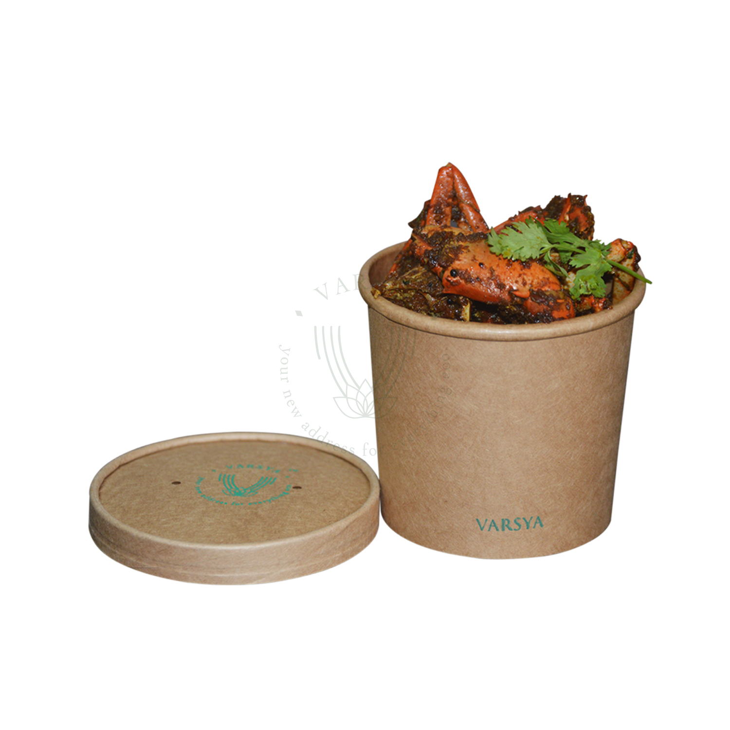 Kraft Paper Containers